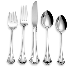 Screenshot of various sterling silverware - sterling silver flatware