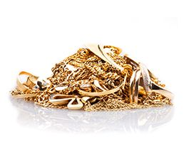 Gold Jewelry Banner with Gold Watches, Rings and Bars - what we buy