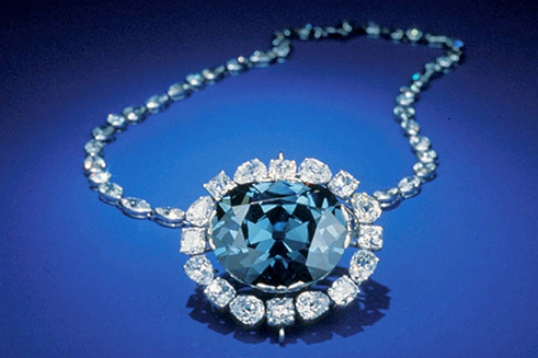 An example of a hope diamond - diamond exchange cash