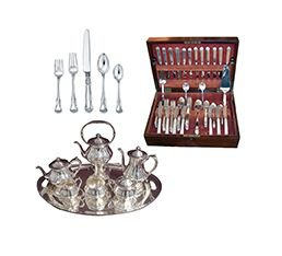 Sets of Sterling Silverware - what we pawn