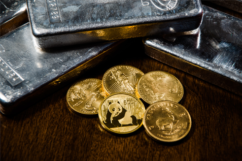 Gold coins with pandas - cash for gold jewelry store