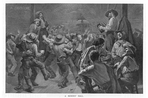 Picture of a miner's ball - gold rush - cash for gold jewelry store