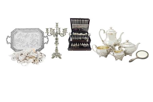 An example of sterling silverware items we buy - sterling silver flatware