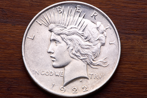 Liberty silver coin from 1922 -coin buyers near me