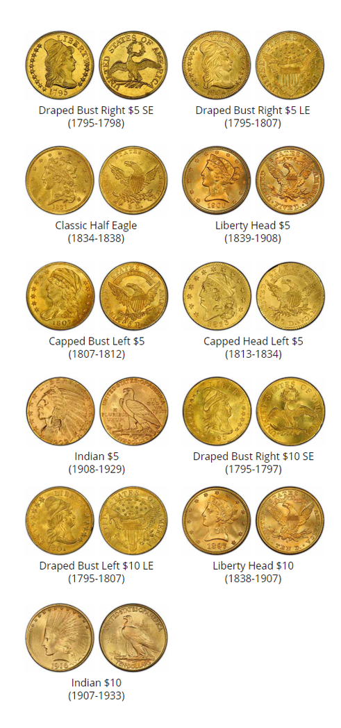 $5 to $10 dollar coins - coin buyers near me