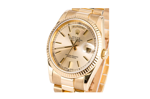 Gold rolex watch - luxury watch buyers