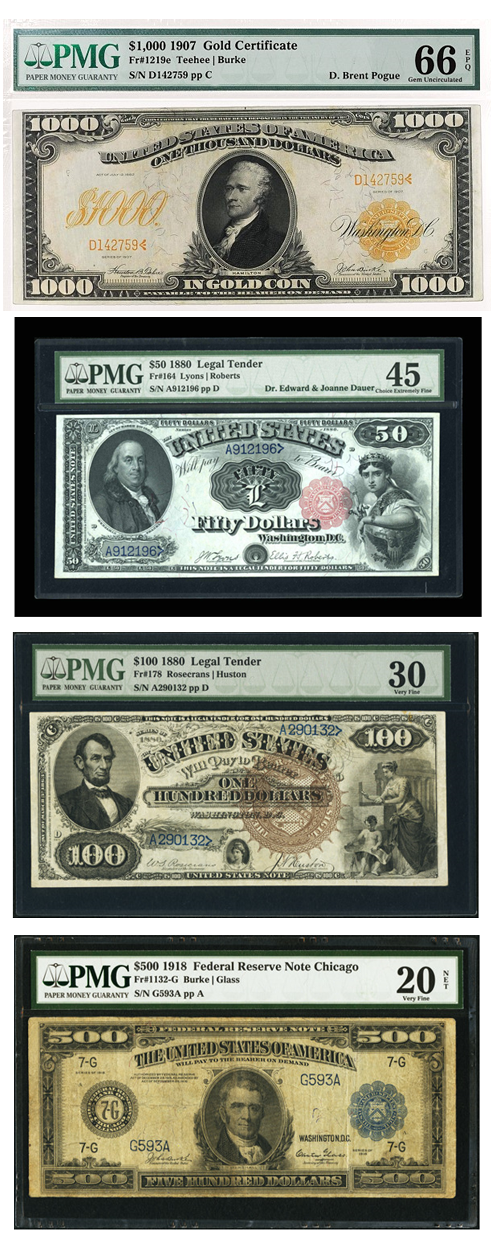 paper money grading scale